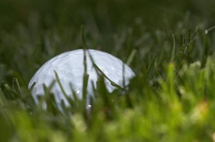 Golf a bordo, sobre césped verdadero