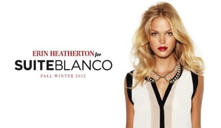 Blanco va más allá y nos presenta nueva colección con Erin Heatherton. ¿Te fijarás en la ropa?