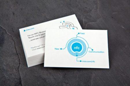 Tarjetas de visita con NFC son una realidad gracias a Moo
