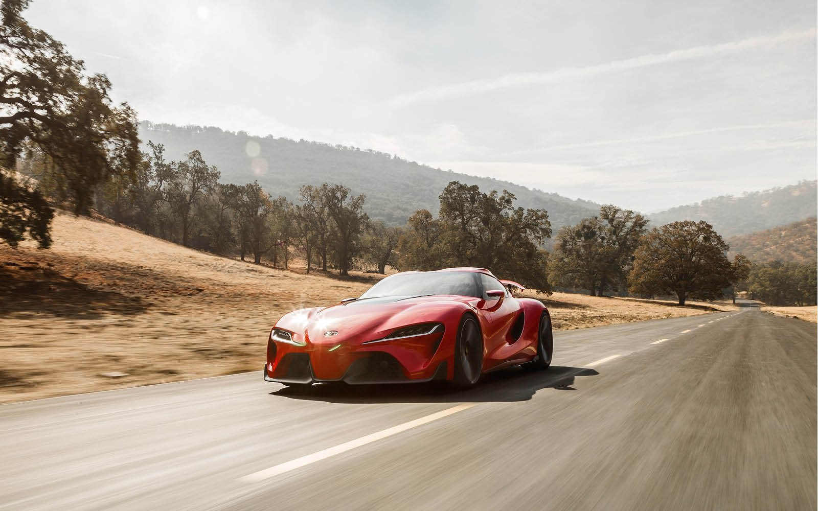 Toyota Ft 1 >> Toyota FT-1 Concept (6/31)