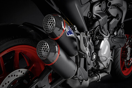 Ducati Monster Accessories Silencer