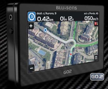 Blusens G02, evolución de la navegación GPS con imagen real