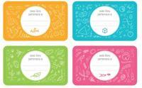 Vuelta al cole: etiquetas gratis para identificar los libros