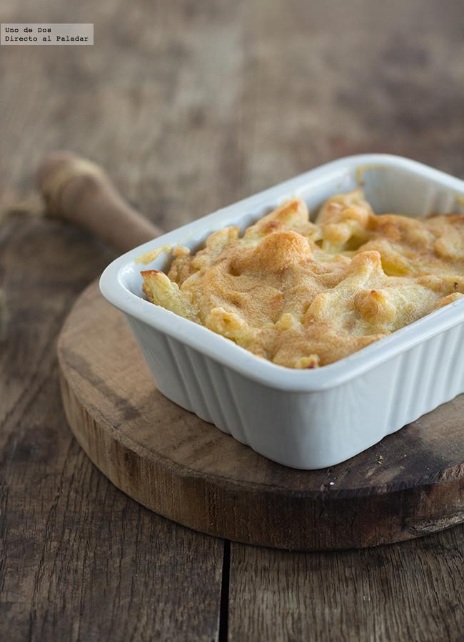 Macarrones con mayonesa al horno receta - Macarrones con verduras al horno ...