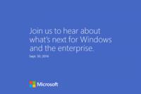 Microsoft anuncia un evento para el 30 de septiembre, Windows 9 en camino
