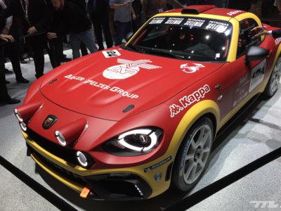 El Abarth 124 Spider se viste de carreras con una versión Rally vitaminada