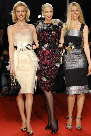 Alfombra roja en la fiesta de Vogue y Dolce & Gabbana en Milán: todas las invitadas