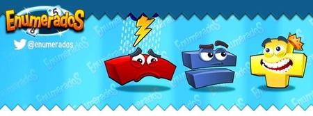 Enumerados es un juego fantástico para estimular el cálculo mental también de los más pequeños