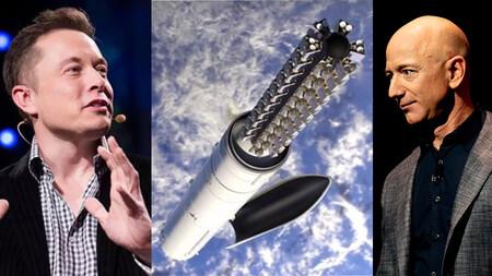 """Elon Musk critica de nuevo a Jeff Bezos: dice que se retiró de Amazon para """"dedicarse tiempo completo a demandar a Space X"""""""
