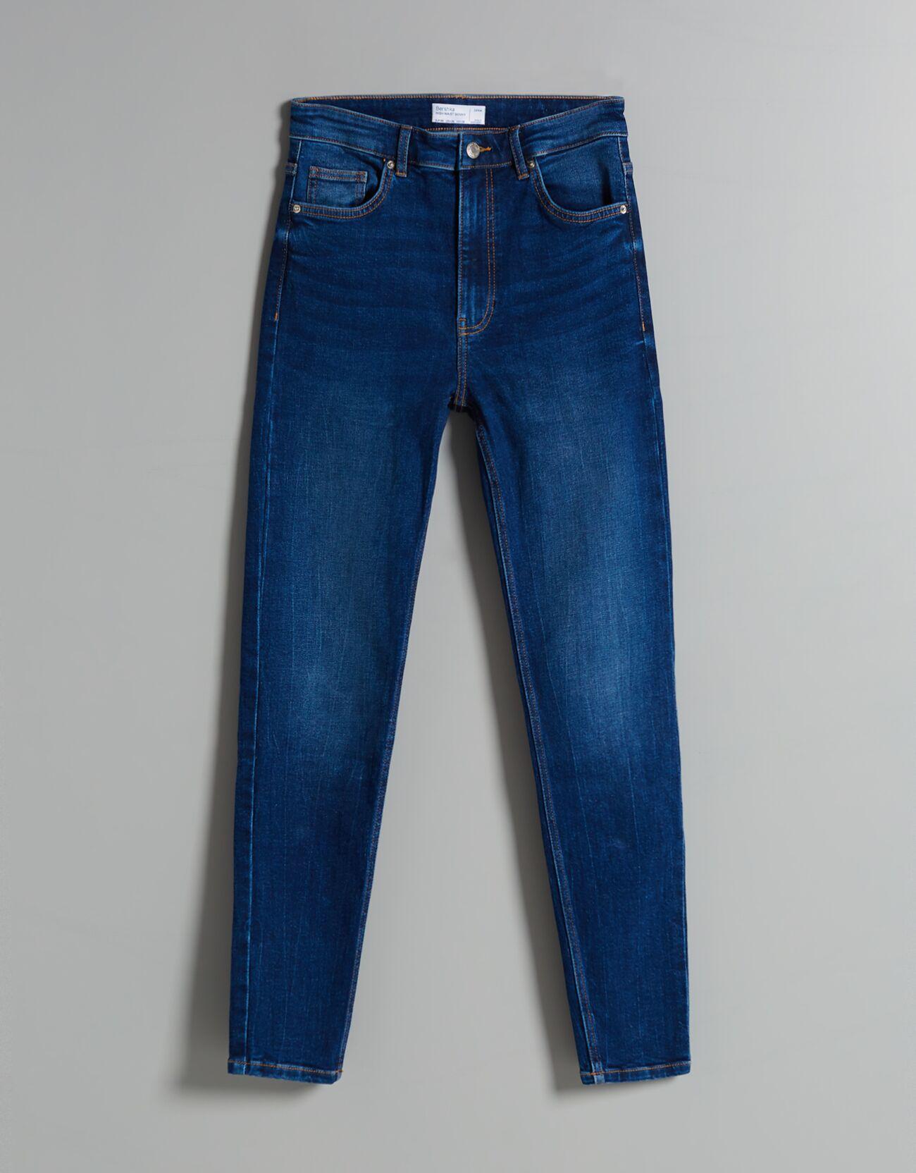Jeans skinny high waist.