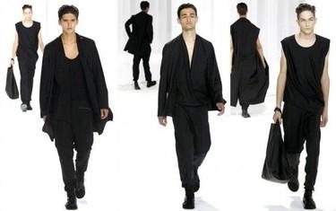 Total looks black también en la Primavera-Verano 2011