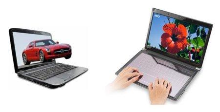 AUO también tiene teclados solares y pantallas 3D