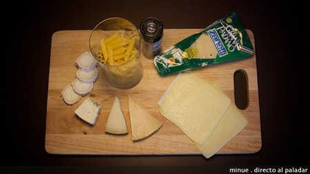 Macarrones cuatro quesos - ingredientes