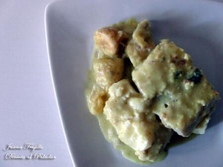 Bacalao en salsa curry, receta de Cuaresma