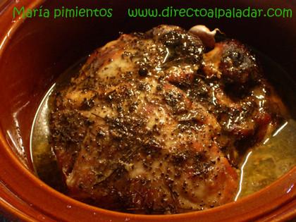 Receta de cabezada de cerdo confitada en aceite de oliva