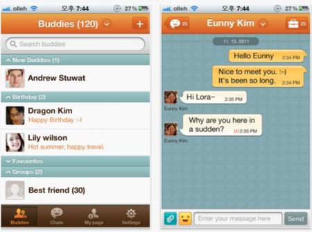 ChatON, el cliente de mensajería de Samsung, llega a iOS