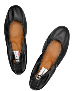 flat shoes lanvin