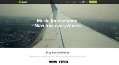 Spotify anuncia su servicio de música gratuita para móviles y tablets