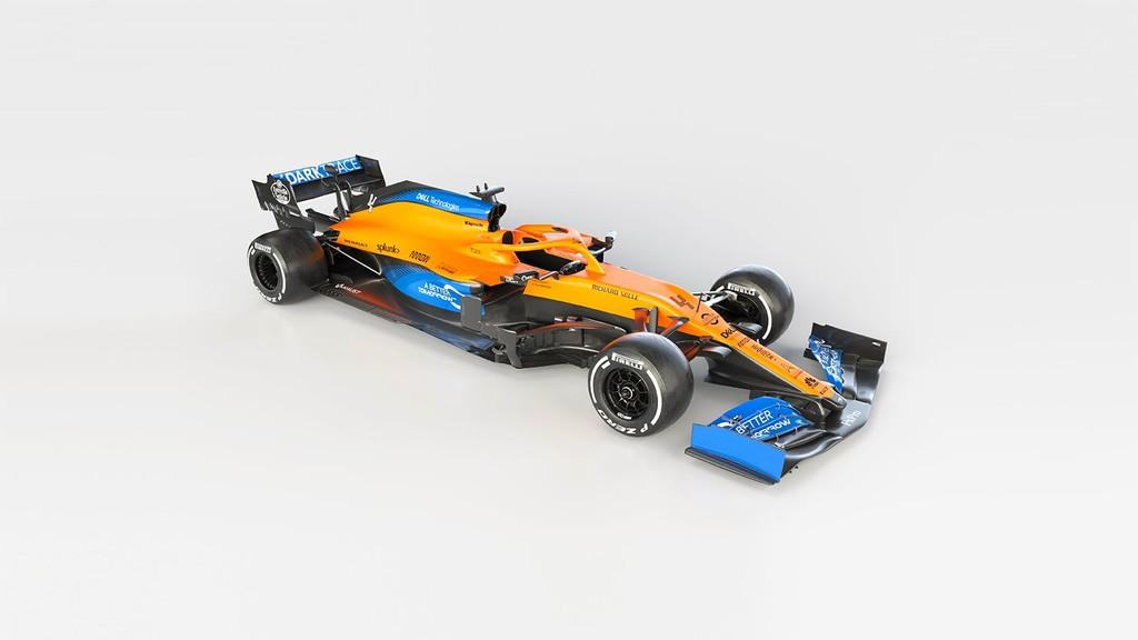 ¡Precioso! McLaren presenta un revolucionario MCL35 de morro fino con el que Carlos Sainz luchará por los podios