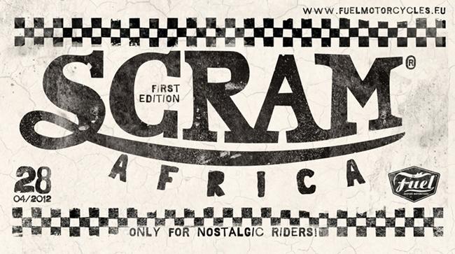 Logo Scram Africa primera edición