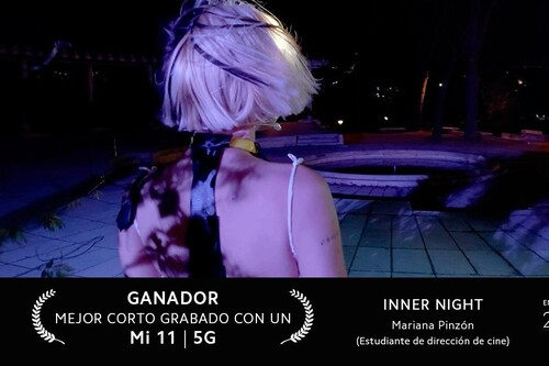 Entrevista con Mariana M. Pinzón, vencedora del Concurso de Cortos Xiaomi del 24 Festival de Málaga
