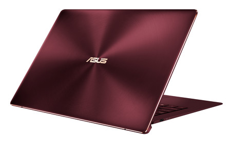 Asus Zenbook S Burgundy Red Elegant Design