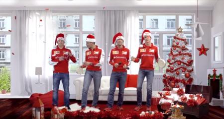 Ferrari nos desea feliz navidad en este video incluyendo al siempre agradable Kimmi Raikkonen