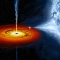 """Es la primera vez que se pilla a un agujero negro """"eructar"""" dos veces y se ha conseguido la instantánea del momento"""