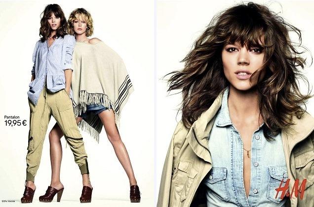 Foto de Campaña H&M Primavera-Verano 2011 con Freja Beha Erichsen y Raquel Zimmermann (10/16)