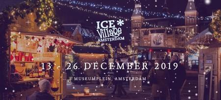 Ice Village: hielo y la magia de la Navidad en Ámsterdam