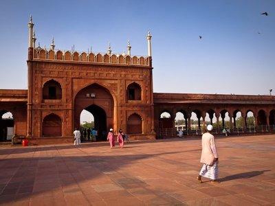 Jama Masjid, la mezquita más grande de la India