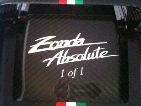 Pagani Zonda Absolute, uno de uno