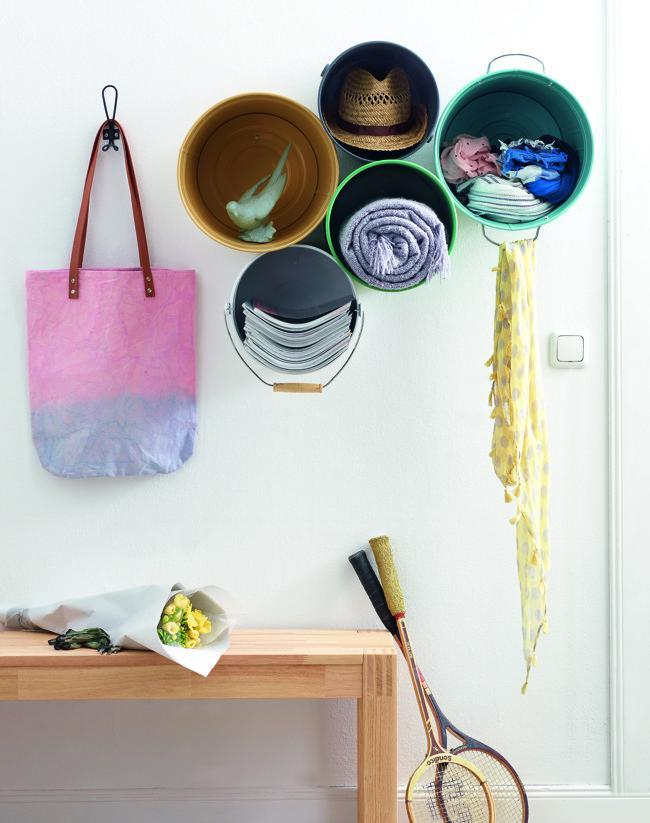 Hazlo tú mismo: una original solución de almacenaje de pared