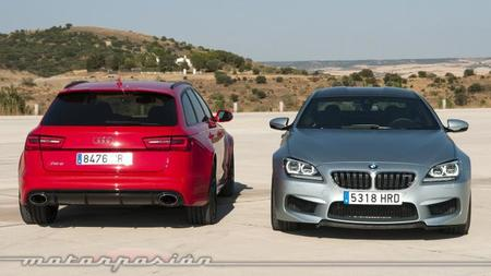 BMW M6 Gran Coupé - Audi RS 6 Avant