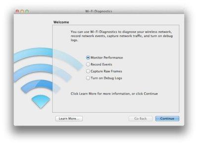 Wifi Diagnostics, comprueba el estado de tu red wifi desde tu Mac