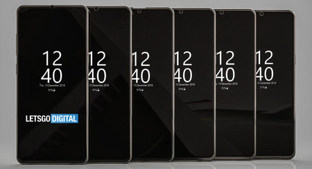 Samsung patenta seis tipos de notch distintos, todos ellos de tamaño reducido