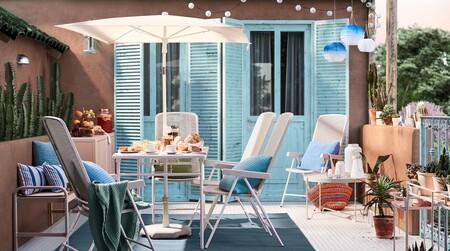 Cuatro ideas para que nuestras terrazas, balcones y jardines sean dignos de la portada del catálogo de Ikea