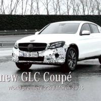 El nuevo Mercedes-Benz GLC Coupé, también para Nueva York