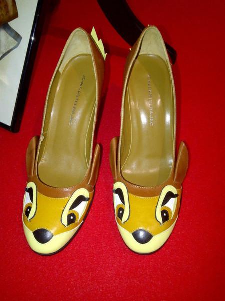 Zapatos Bambi de JC de Castelbajac