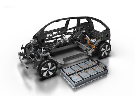 baterías bmw i3 coche eléctrico