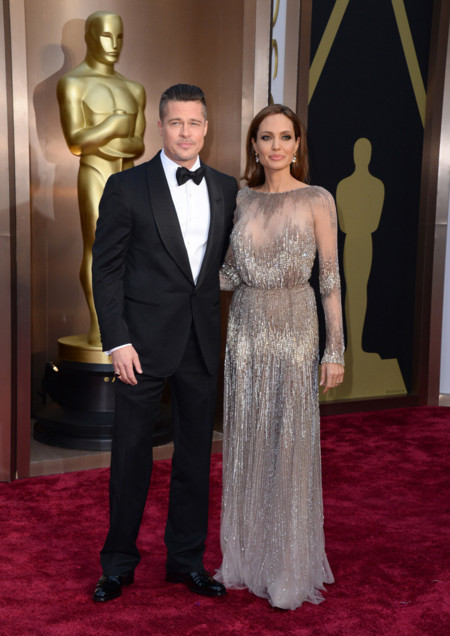 Angelina Jolie Oscar 2014