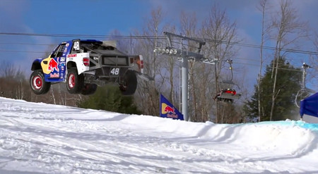 Red Bull Frozen Rush 2014, el espectáculo en vídeo