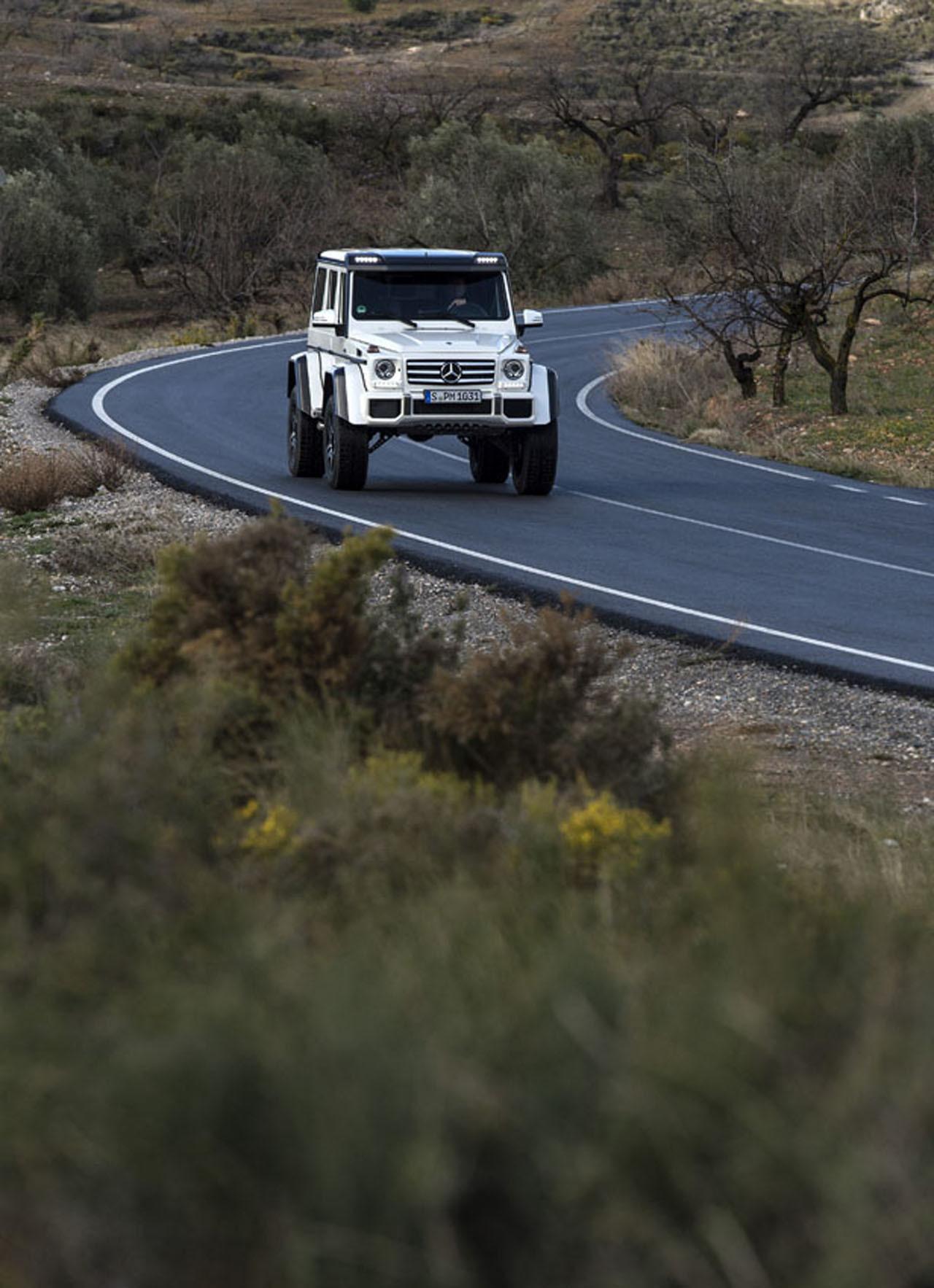 Foto de Mercedes-Benz G 500 4x4², toma de contacto (32/127)