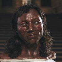 Así era el primer británico: de piel negra y ojos azules