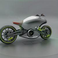 Así podría ser una futura moto de Porsche: eléctrica, con 160 cv y diseñada por un español