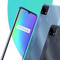 Realme C25: un Android económico con una gran batería