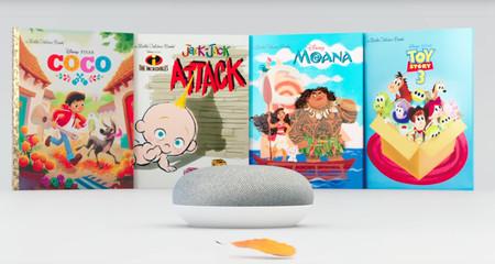 Google Home da vida a los cuentos infantiles de Disney añadiendo música y efectos de sonido