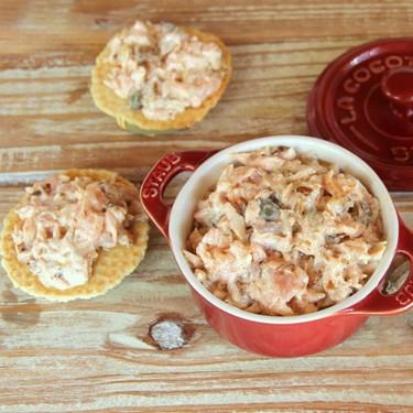 Paté de salmón casero estilo rillete, la receta más fácil para un aperitivo diferente