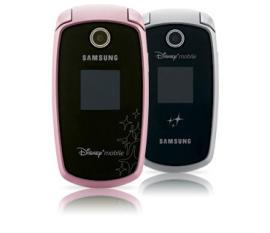 Más móviles Disney hechos por Samsung