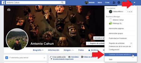 Como Cambiar Nuevo Diseno Facebook Mexico